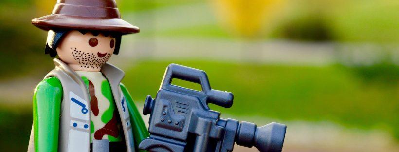 Kameramann: B2B-Video Marketing
